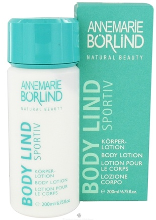 DROPPED: Annemarie Borlind - Natural Beauty Body Lind Sportiv Body Lotion - 6.75 oz. CLEARANCE PRICED