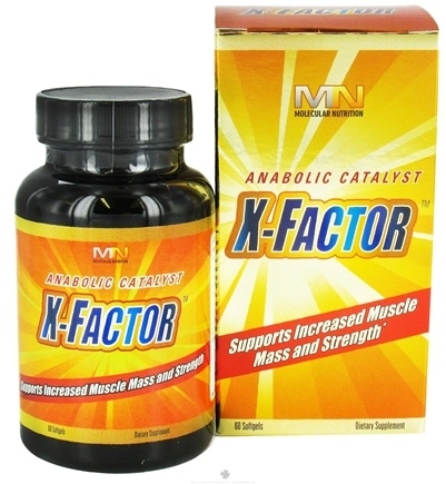 DROPPED: Molecular Nutrition - X-Factor - 60 Softgels