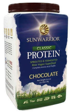 Sunwarrior - Classic Protein Chocolate - 2.2 lbs.