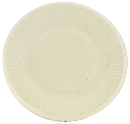 DROPPED: World Centric - Wheat Straw Plates 6-Inch - 20 Count CLEARANCE PRICED