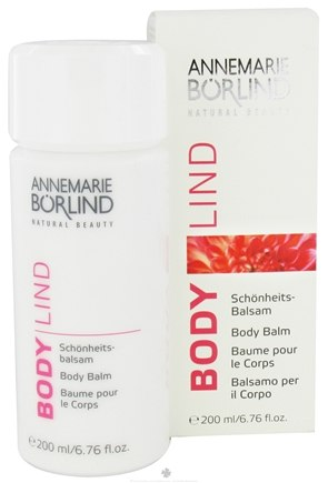 Zoom View - Annemarie Borlind Natural Beauty Body Lind Body Balm