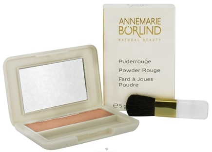 DROPPED: Annemarie Borlind - Natural Beauty Powder Rouge Peach 13 - 0.17 oz. CLEARANCE PRICED