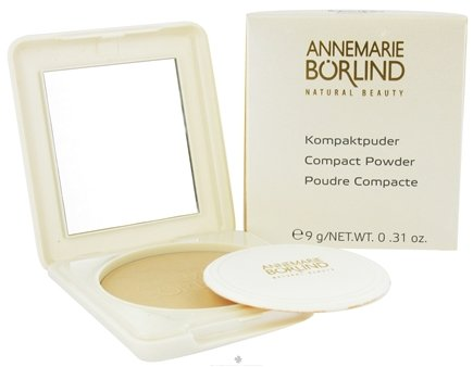 DROPPED: Annemarie Borlind - Natural Beauty Compact Powder Transparent 04 - 0.31 oz. CLEARANCE PRICED