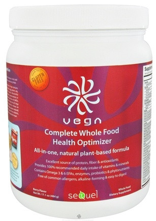 DROPPED: Vega - Complete Whole Food Health Optimizer Berry - 17.1 oz.