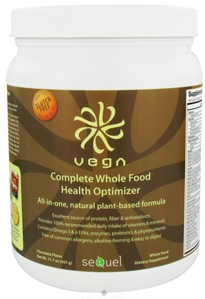 DROPPED: Vega - Complete Whole Food Health Optimizer Chocolate - 17.7 oz.