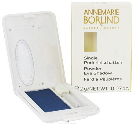 DROPPED: Borlind of Germany - Annemarie Borlind Natural Beauty Powder Eye Shadow Deep Blue 30 - 0.07 oz. CLEARANCE PRICED
