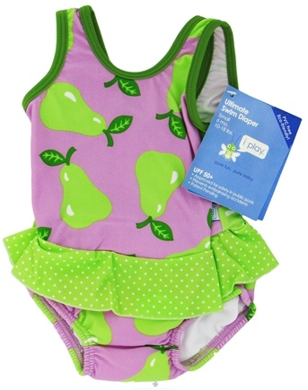 Zoom View - Skirt Tanksuit with Ultimate Swim Diaper Small 6 Months 10-18 lbs.