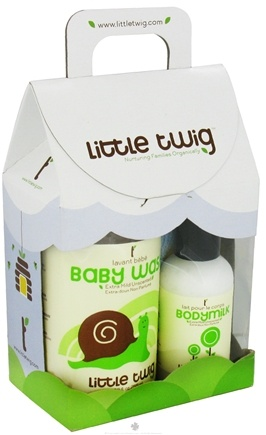 DROPPED: Little Twig - Mini Gift Set Organic Unscented - 1 Set(s) CLEARANCE PRICED
