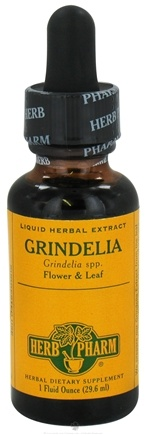 DROPPED: Herb Pharm - Grindelia Extract - 1 oz. CLEARANCE PRICED