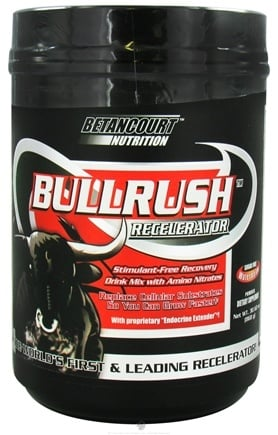 DROPPED: Betancourt Nutrition - Bullrush Recelerator Sugar Free Watermelon - 30.62 oz. CLEARANCE PRICED