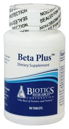 DROPPED: Biotics Research - Beta Plus - 90 Tablets