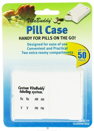 DROPPED: VitaCarry - VitaBuddy Pill Case Dispenser - 1 Case CLEARANCE PRICED