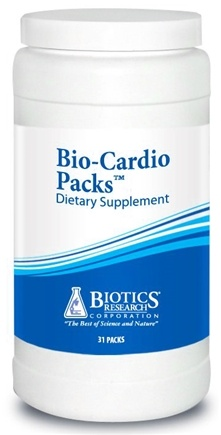 DROPPED: Biotics Research - Bio-Cardio Packs - 31 Pack(s) CLEARANCE PRICED