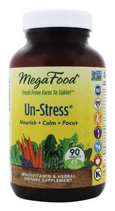 Zoom View - DailyFoods Un-Stress Anti-Stress Organic Herbs