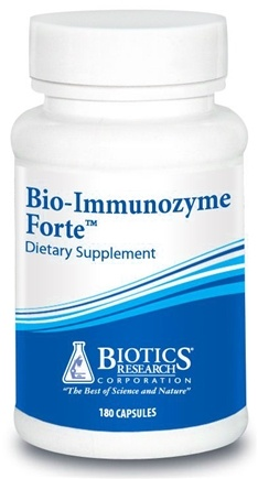 DROPPED: Biotics Research - Bio-Immunozyme Forte - 180 Tablets CLEARANCE PRICED