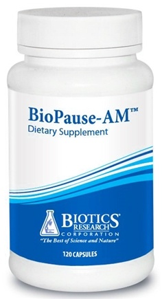 DROPPED: Biotics Research - BioPause-AM - 120 Capsules CLEARANCE PRICED