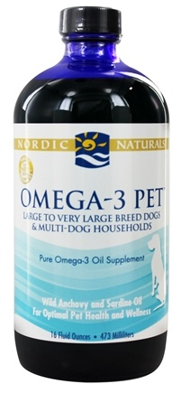 Zoom View - Omega-3 Pet For Large & Very Large Breed Dogs & Multi-Dog Households
