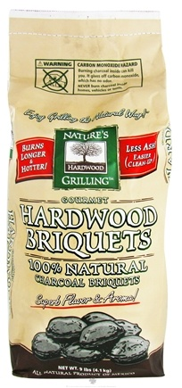 DROPPED: Nature's Grilling Products - 100% Natural Charcoal Briquets Gourmet Hardwood - 9 lbs.