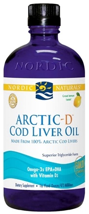 Zoom View - Arctic-D Cod Liver Oil