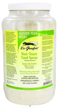 Zoom View - Outside Flea Relief Non-Toxic Yard Spray