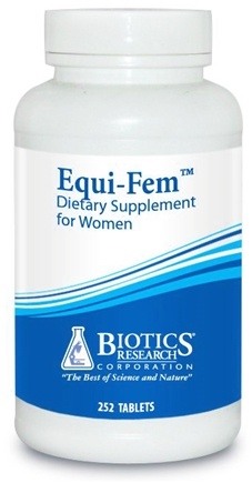 DROPPED: Biotics Research - Equi-Fem for Women - 252 Tablet(s) CLEARANCE PRICED