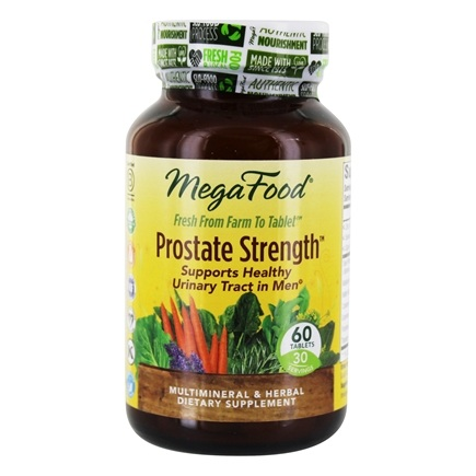 DROPPED: MegaFood - Therapeutix Prostate Strength - 60 Vegetarian Tablets