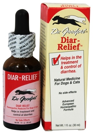 Dr. Goodpet - Diar-Relief Homeopathic Formula For Dogs & Cats - 1 oz.