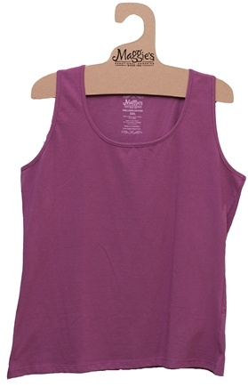 DROPPED: Maggie's Organics - Women's Tank Medium Dusty Lilac - CLEARANCE PRICED