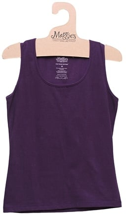 DROPPED: Maggie's Organics - Women's Tank Small Plum - CLEARANCE PRICED