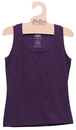 DROPPED: Maggie's Organics - Women's Tank Medium Plum - CLEARANCE PRICED