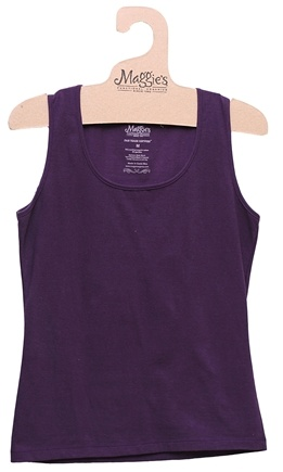 DROPPED: Maggie's Organics - Women's Tank Large Plum - CLEARANCE PRICED