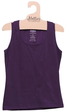 DROPPED: Maggie's Organics - Women's Tank X-Large Plum - CLEARANCE PRICED