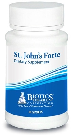 DROPPED: Biotics Research - St. John's Forte - 60 Capsules CLEARANCE PRICED