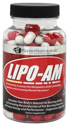 DROPPED: Applied Nutriceuticals - Lipotrophin-AM Daytime Metabolic Booster 600 mg. - 120 Capsules