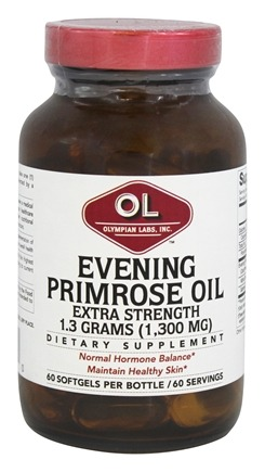 Olympian Labs - Evening Primrose Oil Extra Strength 1300 mg. - 60 Softgels
