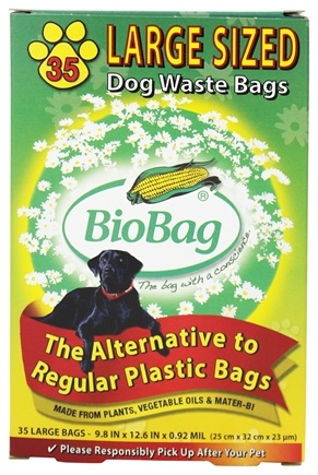 DROPPED: BioBag - Large Dog Waste Bag - 35 Bags