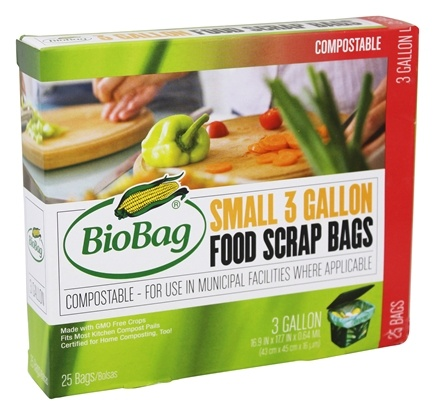 BioBag - Food Scrap Bags - 3 Gallons