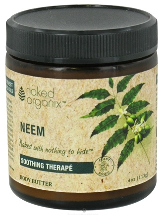 Zoom View - Naked Organix Neem Body Butter