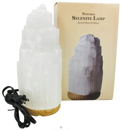 DROPPED: Nature's Artifacts - Lamps From Around The World Natural Selenite Lamp Medium