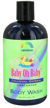 DROPPED: Rainbow Research - Baby Oh Baby Colloidal Oatmeal Body Wash Unscented - 12 oz.