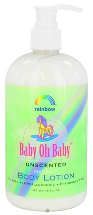 DROPPED: Rainbow Research - Baby Oh Baby Body Lotion Unscented - 16 oz.