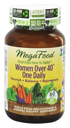 MegaFood - DailyFoods Women Over 40 One Daily - 60 Vegetarian Tablets