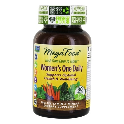MegaFood - DailyFoods Women's One Daily - 30 Vegetarian Tablets