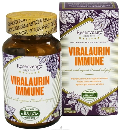 DROPPED: Reserveage Nutrition - Viralaurin Immune - 60 Vegetarian Capsules CLEARANCE PRICED