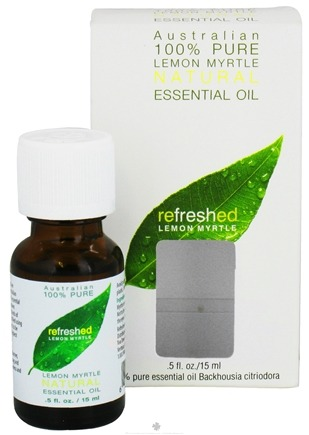 DROPPED: Tea Tree Therapy - Australian 100% Pure Essential Oil Refreshed Lemon Myrtle - 0.5 oz. CLEARANCE PRICED