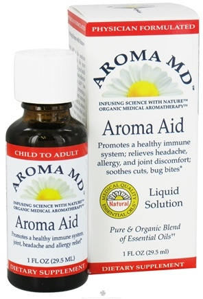 DROPPED: Aroma MD - Aroma Aid Liquid Solution - 1 oz. CLEARANCE PRICED