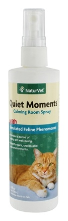 DROPPED: NaturVet - Quiet Moments Herbal Calming Spray For Cats - 8 oz.