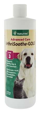 DROPPED: NaturVet - ArthriSoothe Gold Liquid For Cats & Dogs - 16 oz.
