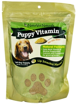 DROPPED: NaturVet - Puppy Vitamin Powder - 12 oz. CLEARANCE PRICED