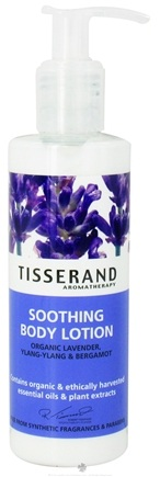 DROPPED: Tisserand Aromatherapy - Body Lotion Soothing Organic Lavender, Ylang-Ylang & Bergamot - 6.6 oz. CLEARANCE PRICED